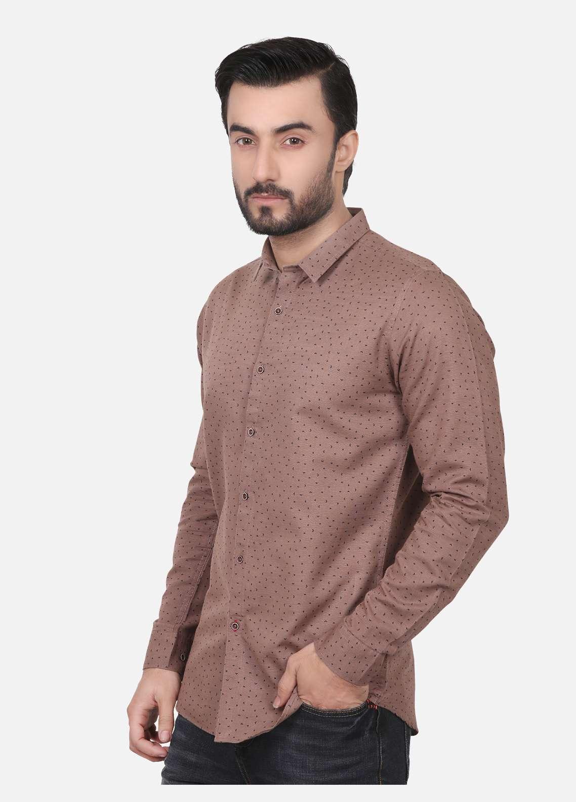 Furor  Casual Men Shirts - Brown FRM18CS 31151