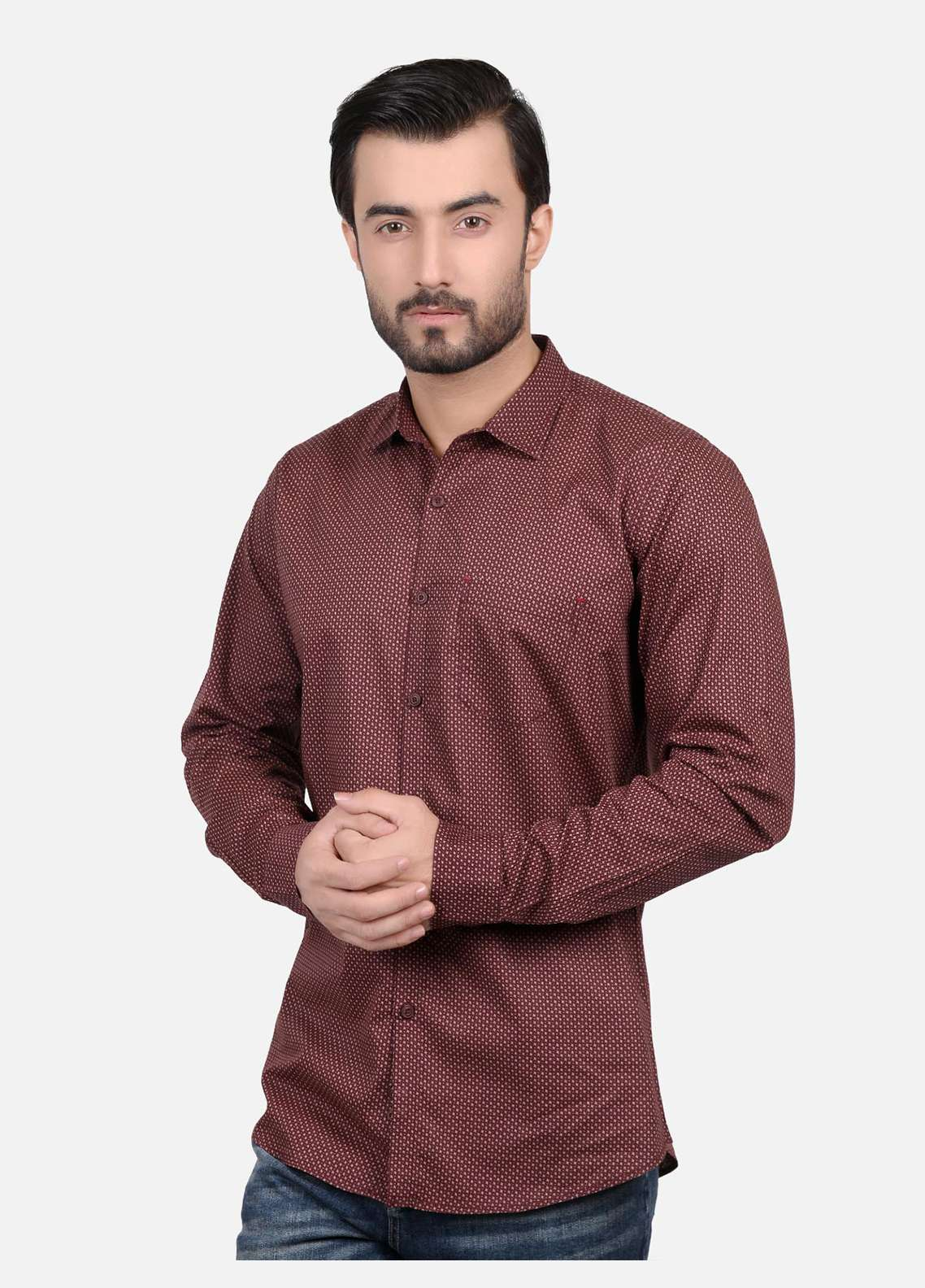 Furor  Casual Shirts for Men - Brown FRM18CS 31153
