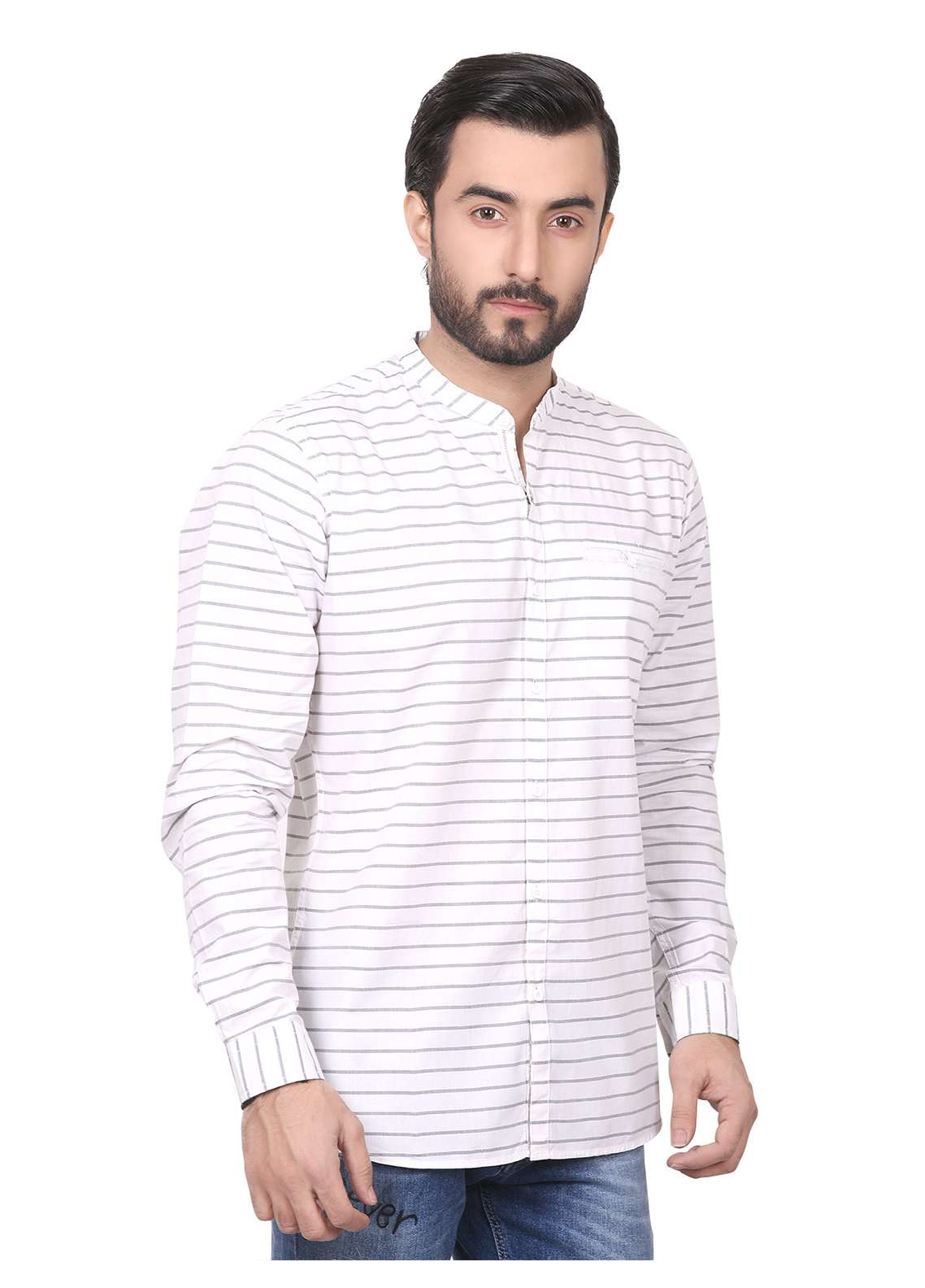 Furor Casual Shirts for Men - White FRM18CS 31187