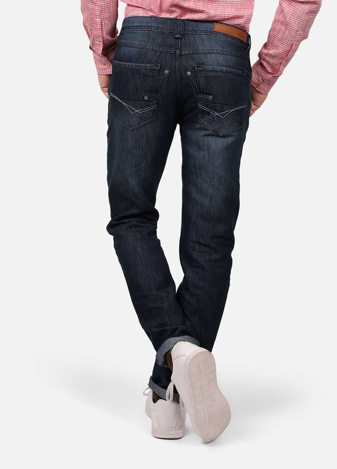 Furor Denim Casual Men Jeans - Ash Blue FRM18DP 016