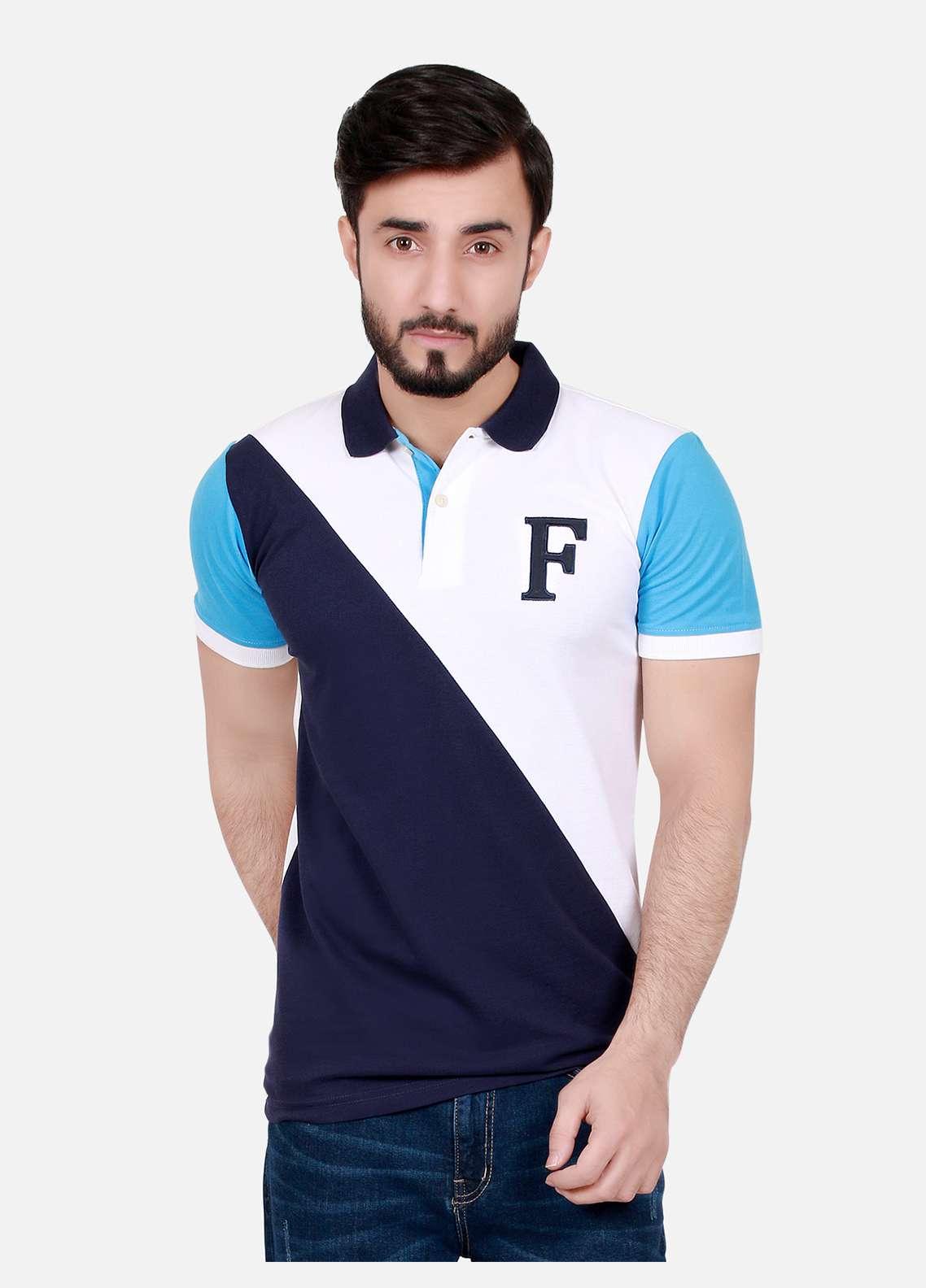 Furor Cotton Polo T-Shirts for Men - Multi FRM18PS 006