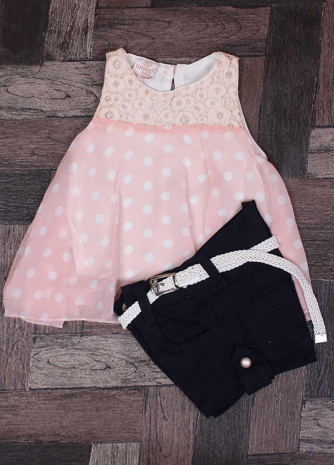 Sanaulla Exclusive Range Mix Cotton Fancy Suits for Girls -   020 Pink