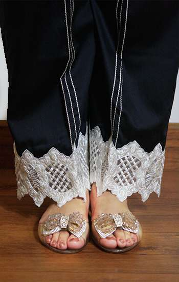 Gulaal Embroidered  Stitched Trouser GL16W GT07