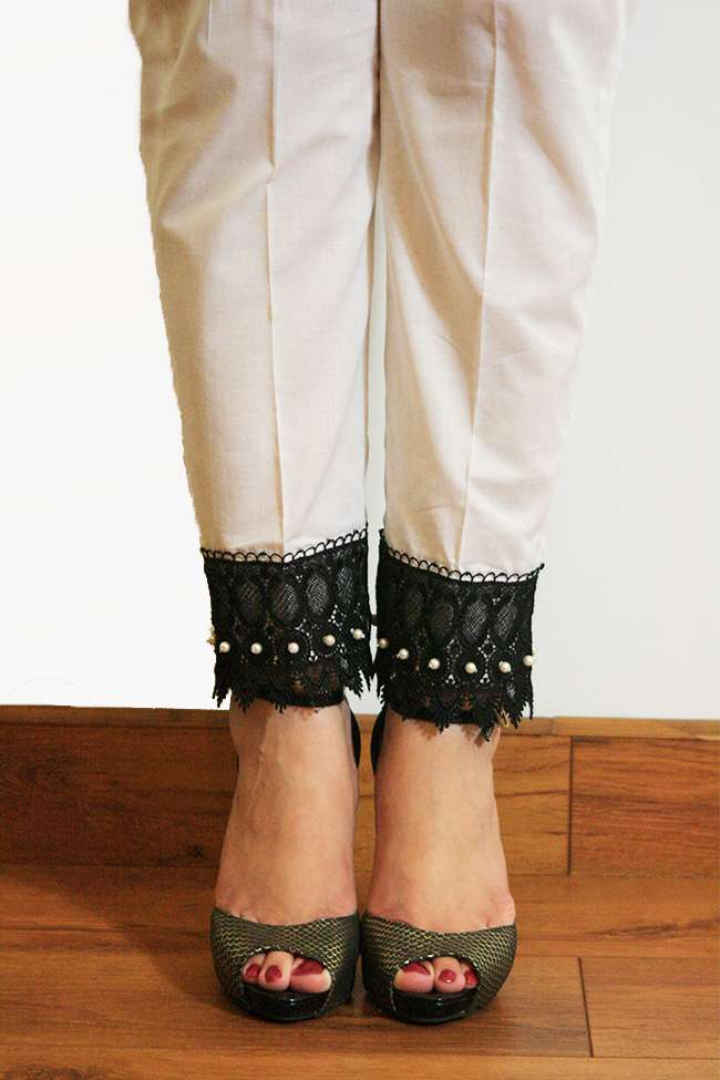 Gulaal Embroidered  Stitched Trouser GL16W GT14