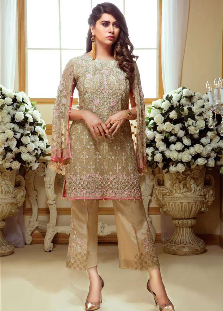 Gulaal Embroidered Chiffon Unstitched 3 Piece Suit GL17C 04