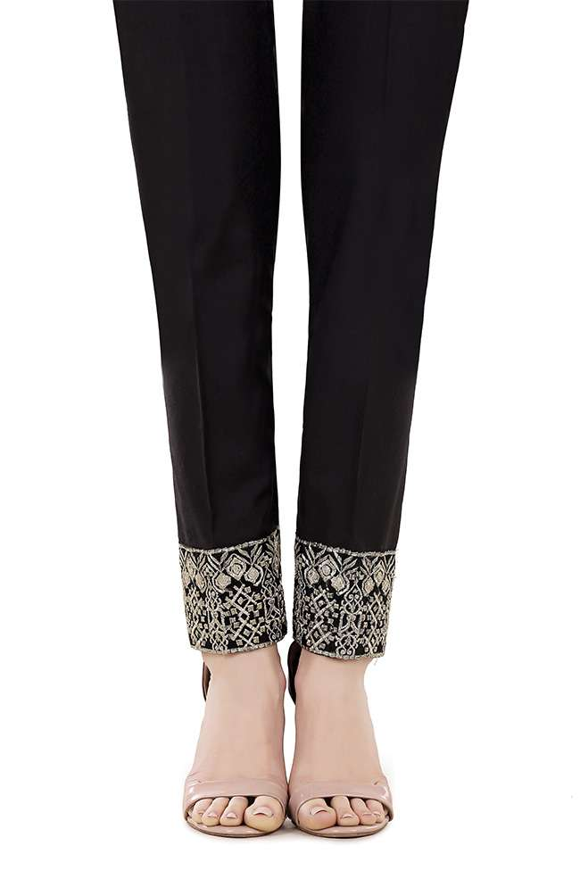Gulaal Embroidered  Stitched Trouser GL17T 04