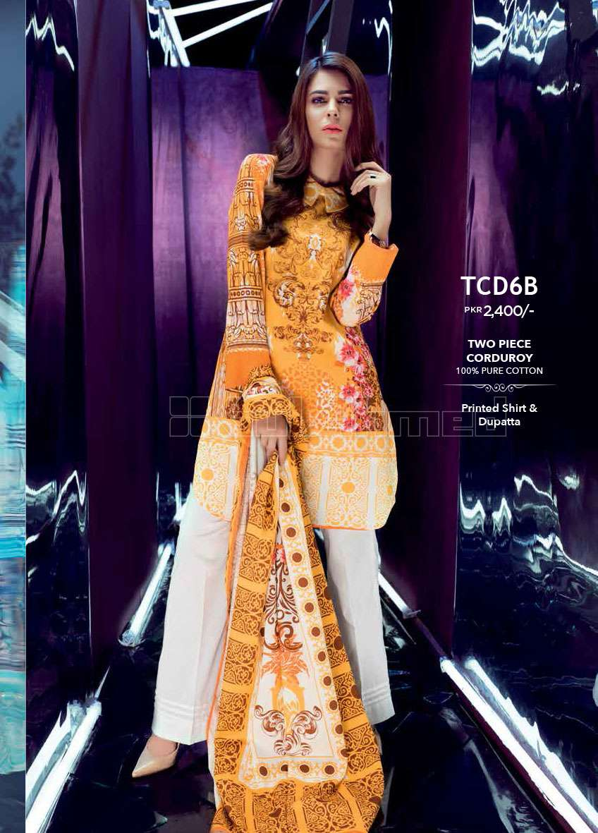 Gul Ahmed Embroidered Linen Unstitched 3 Piece Suit GL17W TCD6B