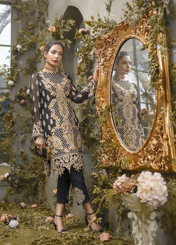 Anahi by Gulaal Embroidered Chiffon Stitched 2 Piece Suit GLP17E 03