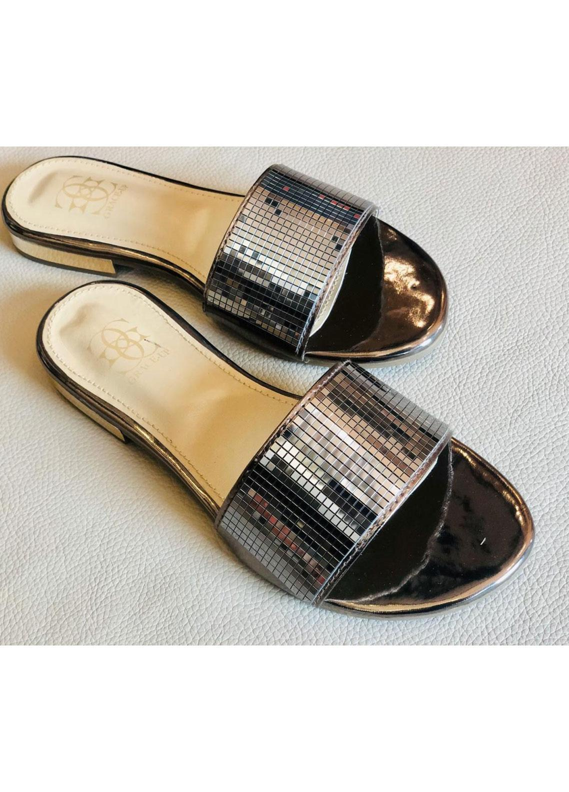 Grace Up Shoes Casual Style  Heel Shoes 0797 GREY