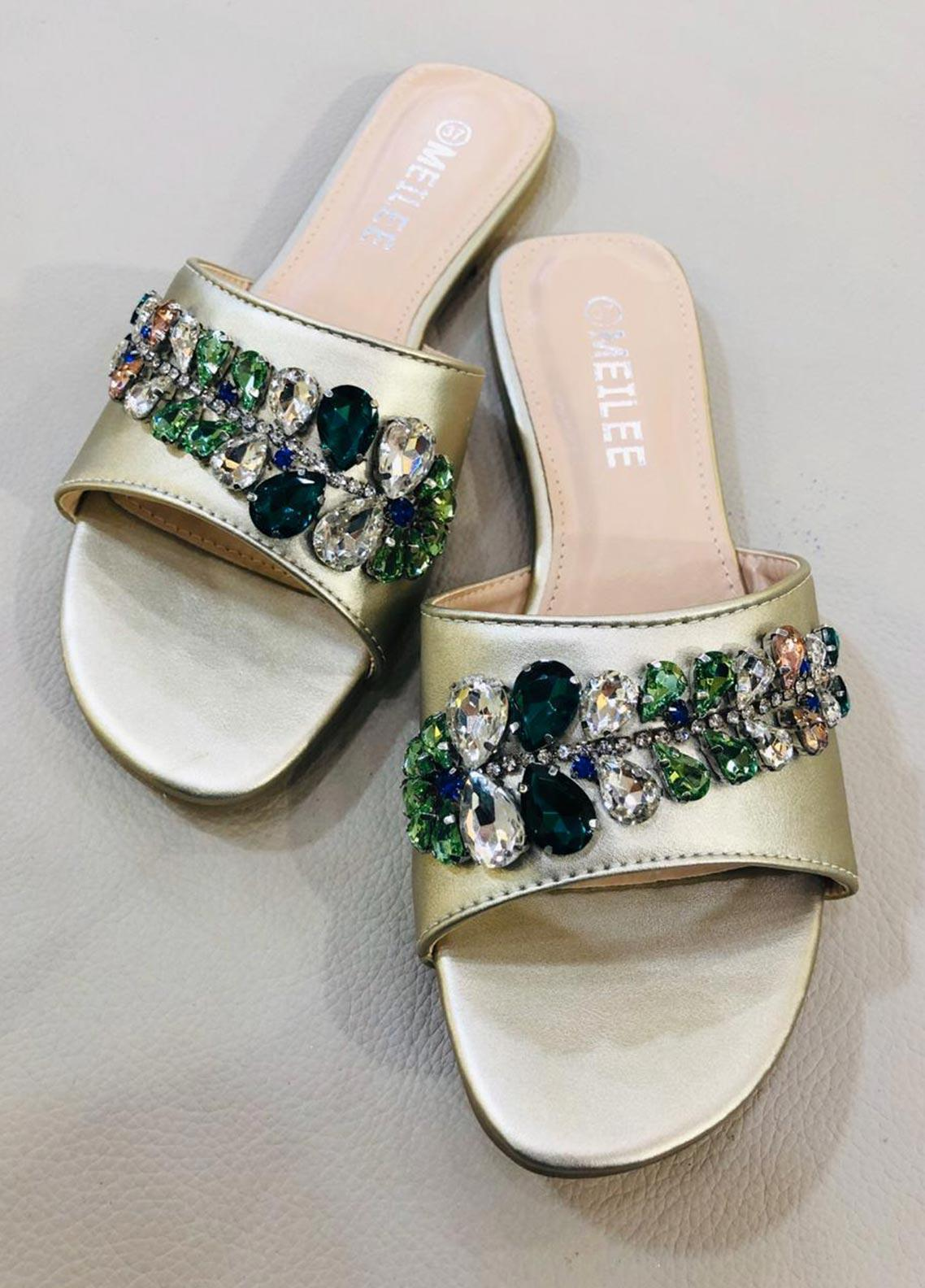Grace Up Shoes Casual Style  Flat Shoes A206 Golden