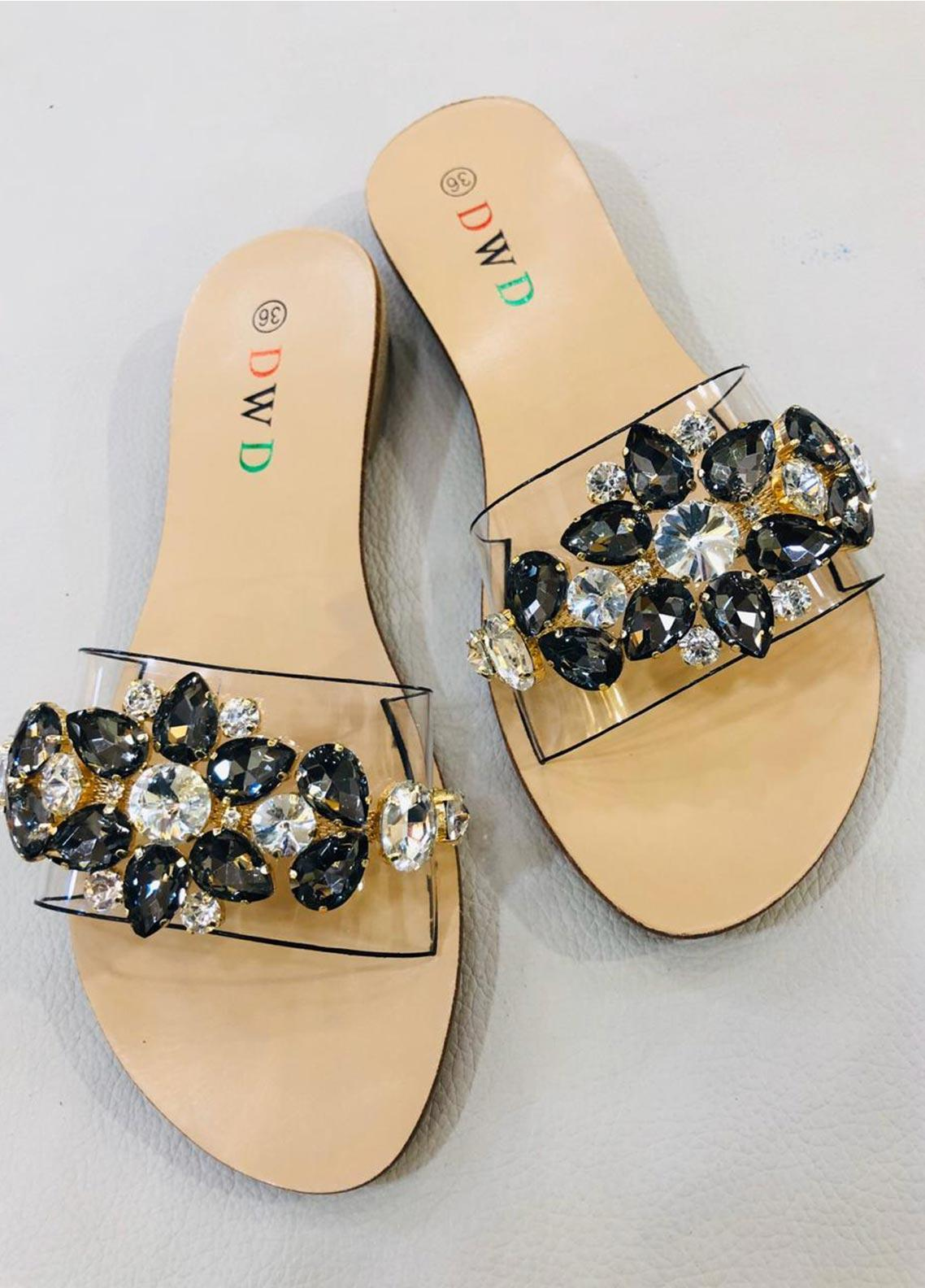 Grace Up Shoes Casual Style  Flat Shoes A227 Black