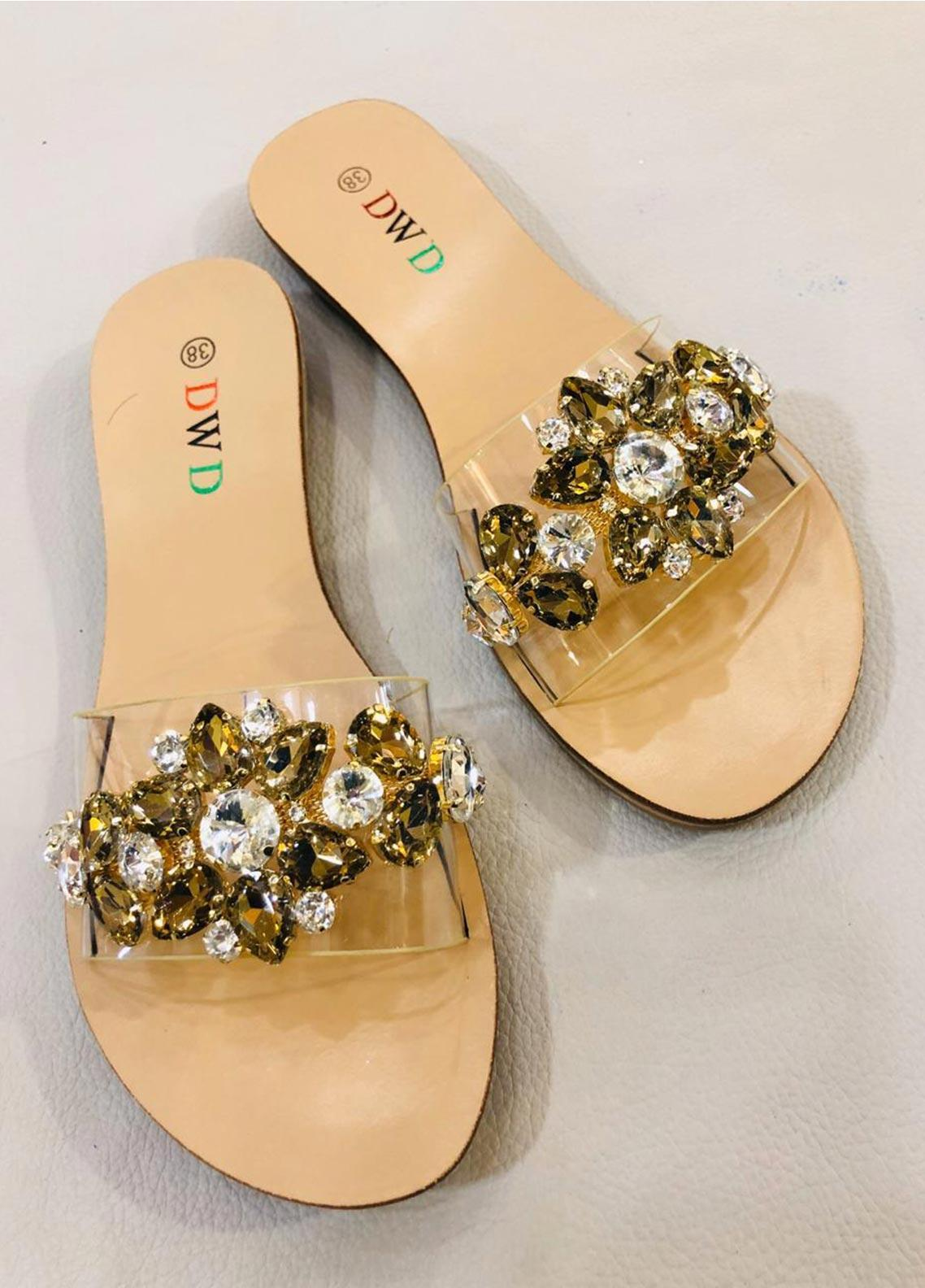 Grace Up Shoes Casual Style  Flat Shoes A227 Golden