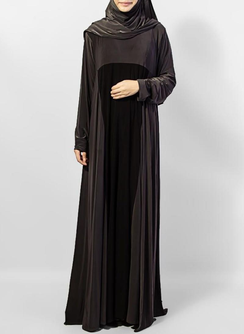 Hijab ul Hareem Pullover Jersey Stitched Abaya 0120-P-707