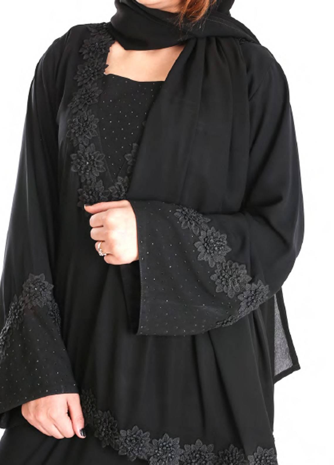 Hijab ul Hareem Formal  Stitched Abaya 0120-RC-921
