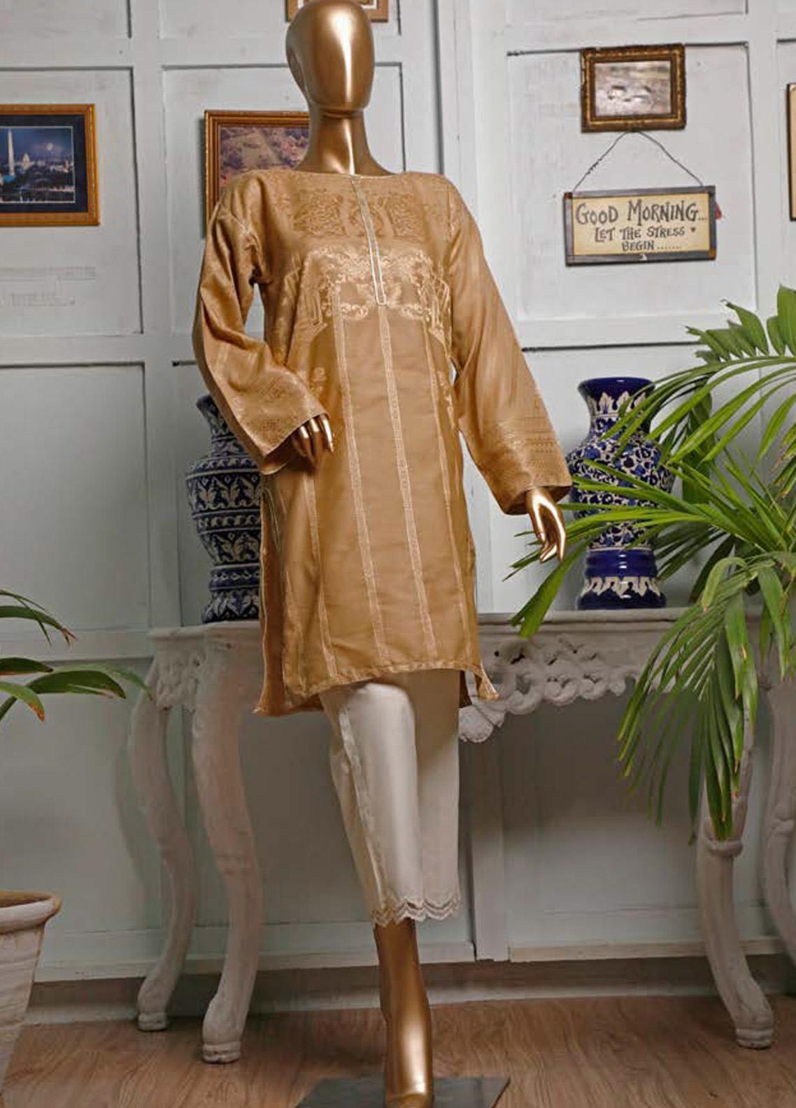 HZ Textiles Printed Jacquard Unstitched Kurties HZ20K 03-Benson - Spring / Summer Collection