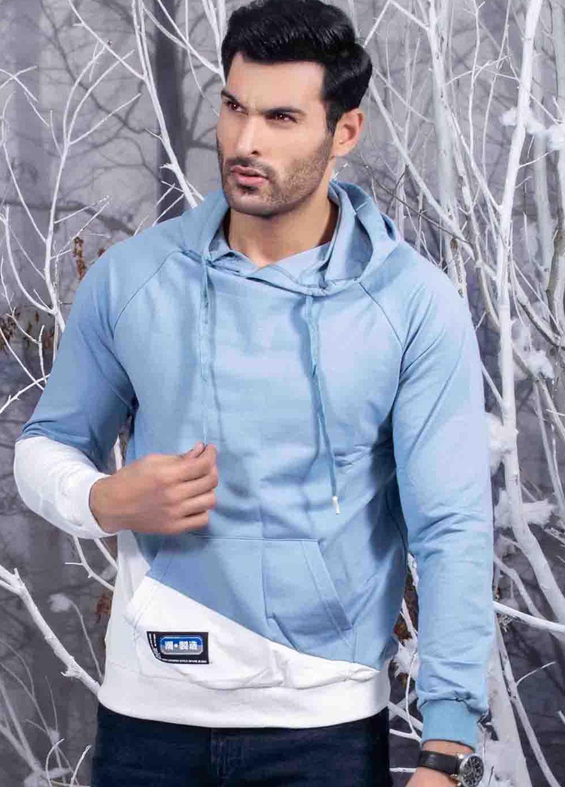 Ignite Wardrobe Cotton Drawstring Color Hoodies for Men -  IG20HDM 001