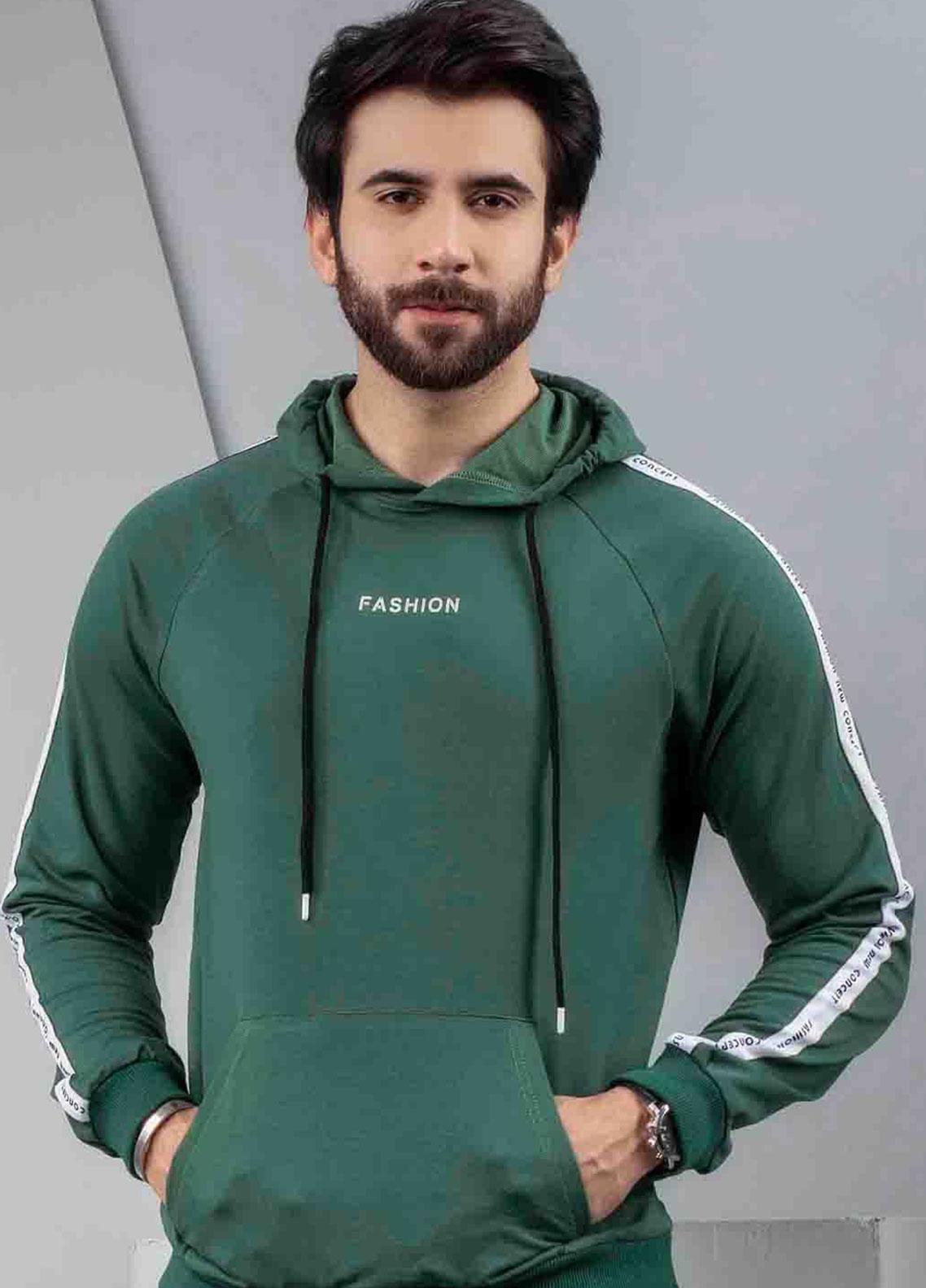 Ignite Wardrobe Cotton Pullover  Men Hoodies -  IG20HDM 004