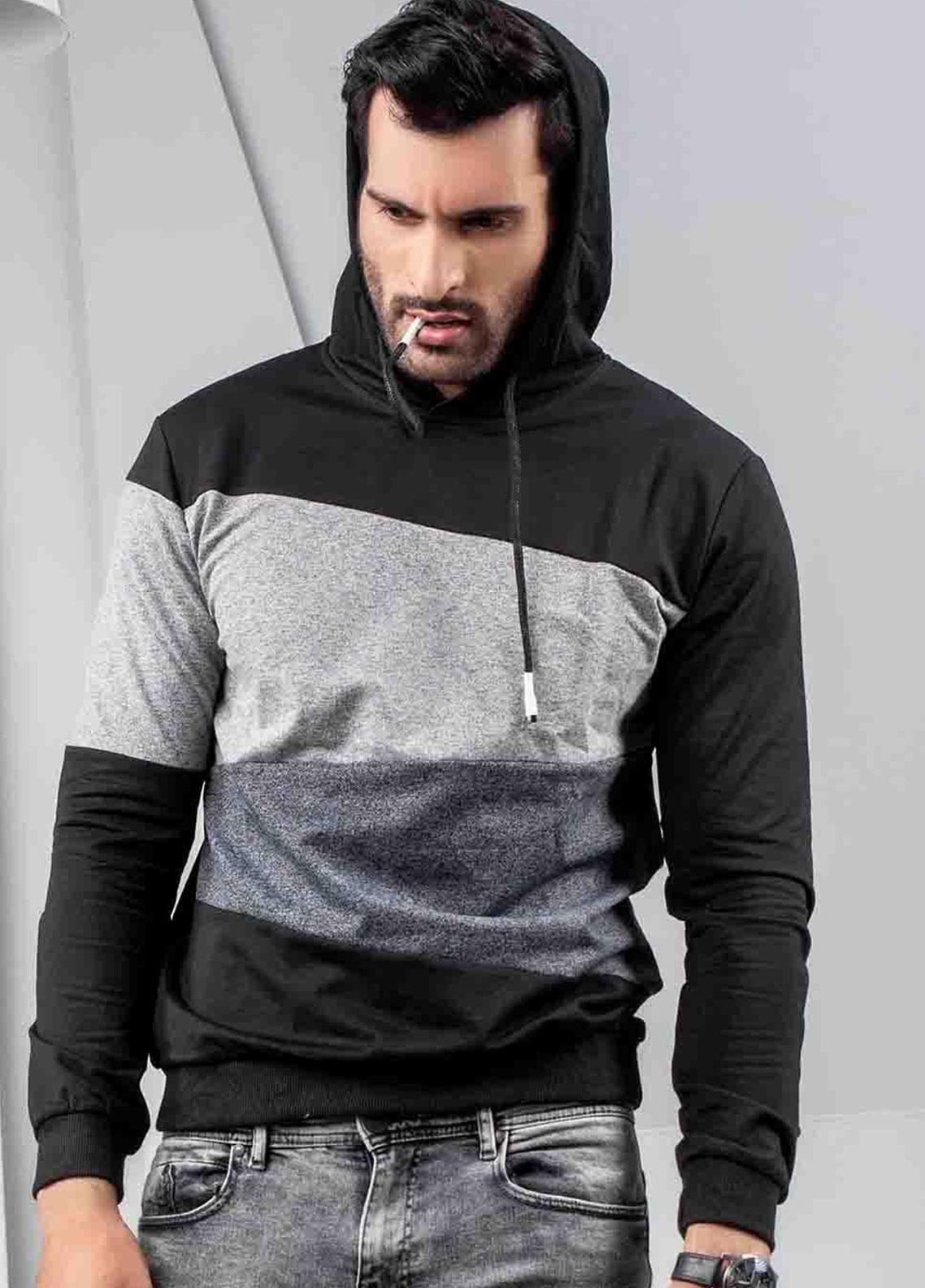 Ignite Wardrobe Cotton Pullover Men Hoodies -  IG20HDM 006