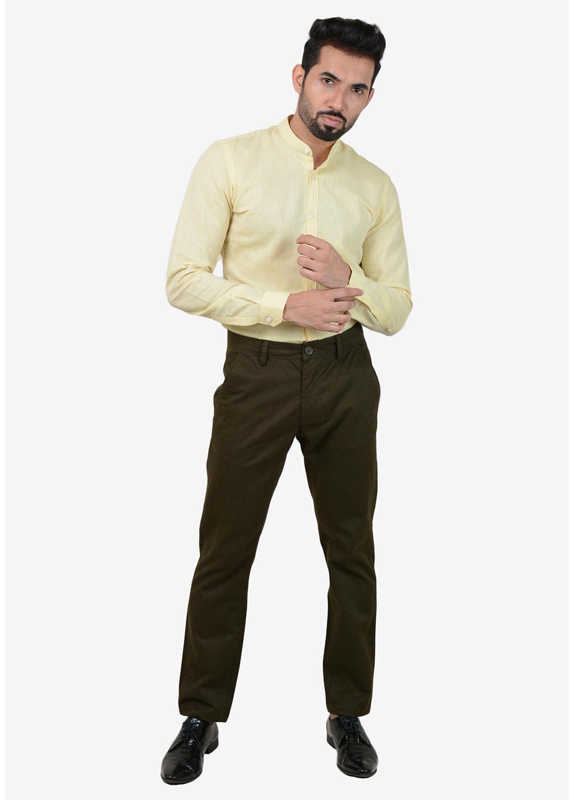 Ignite Wardrobe Cotton Stretchable Chino Pants for Men -  IG20PNM 029