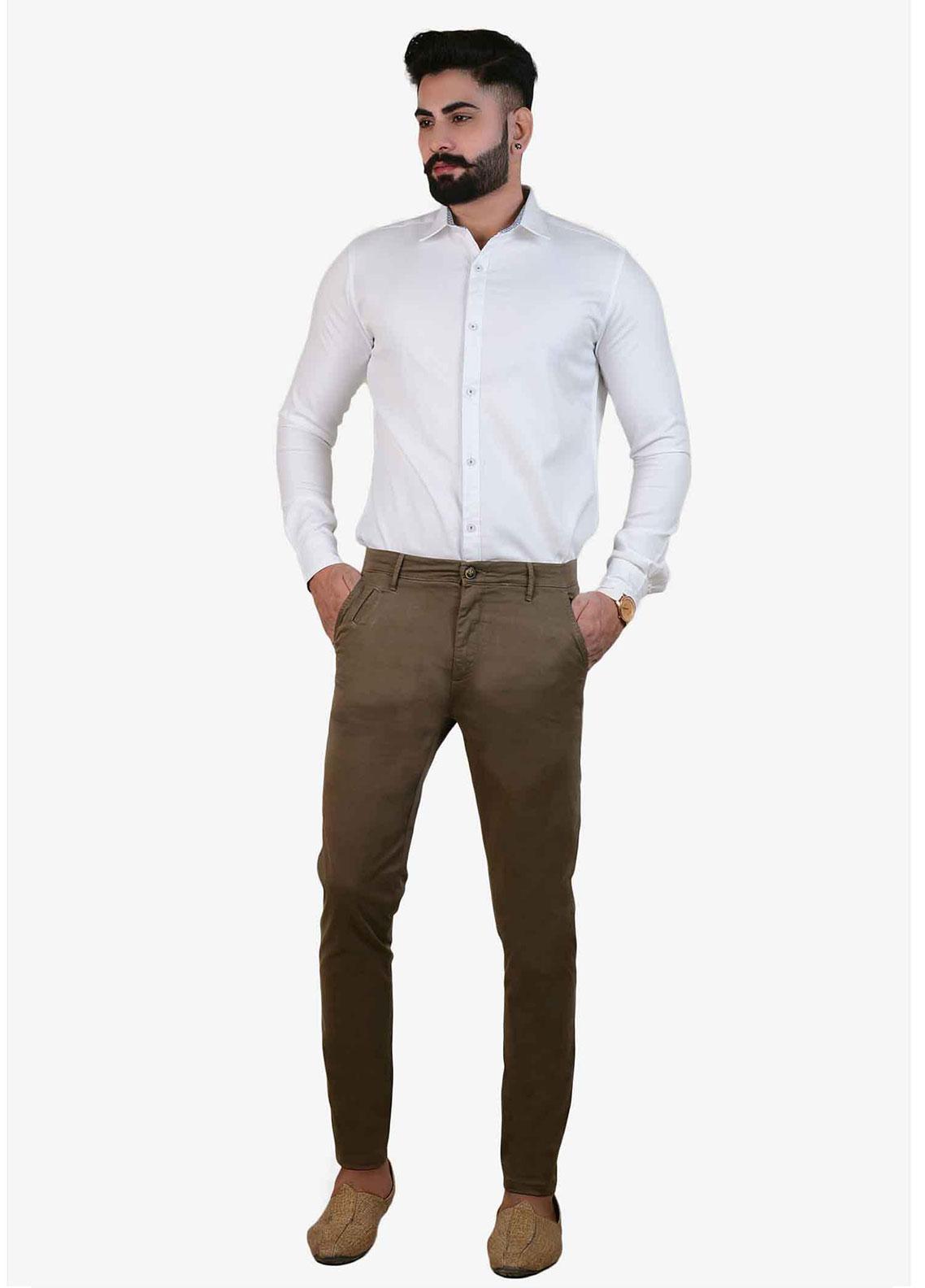 Ignite Wardrobe Cotton Stretchable Chino Men Pants -  IG20PNM 030