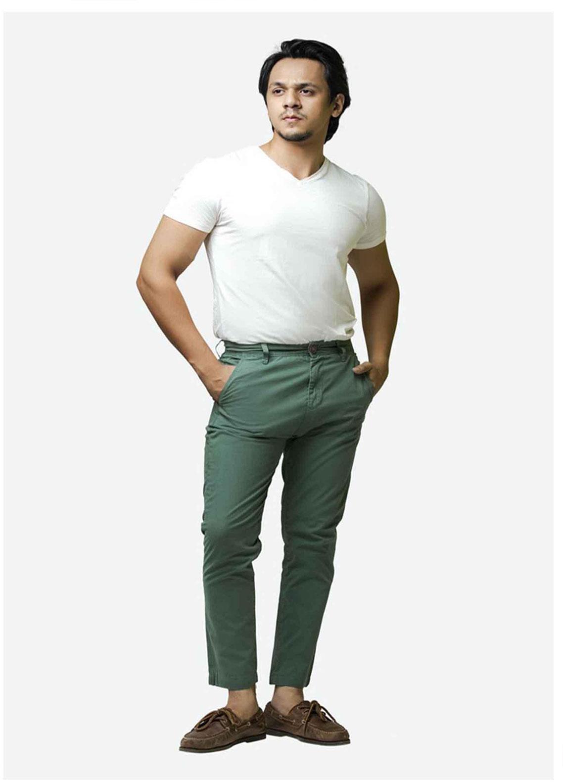 Ignite Wardrobe Cotton Slim Fit Chino Men Pants -  IG20PNM 038