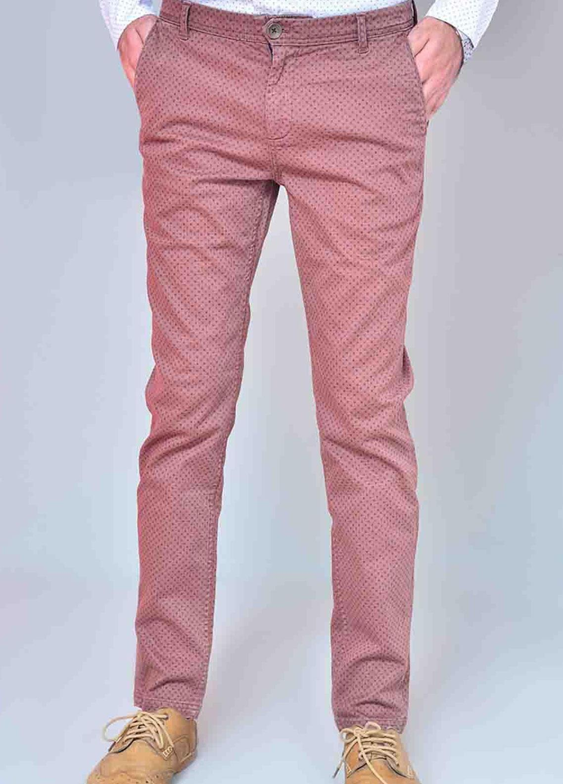 Ignite Wardrobe Cotton Printed Chino Pants for Men -  IG20PNM 043