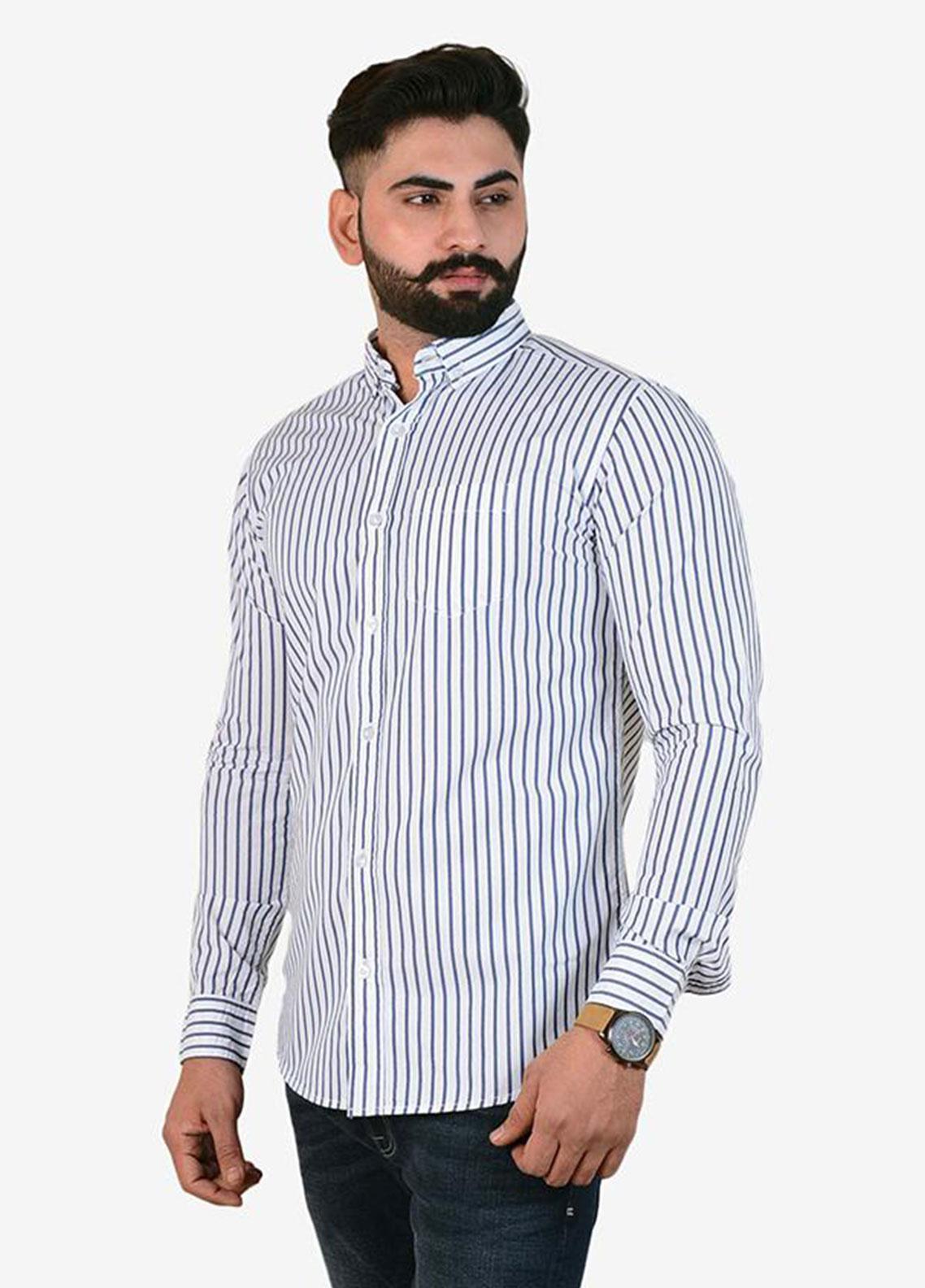 Ignite Wardrobe Cotton Semi Formal Lining Shirts for Men -  IG20SHM 027
