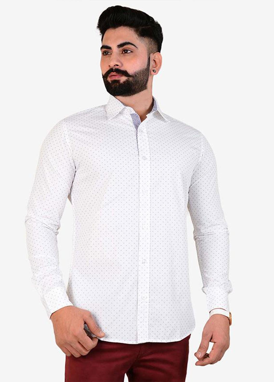Ignite Wardrobe Cotton Printed Casual Men Shirts -  IG20SHM 030