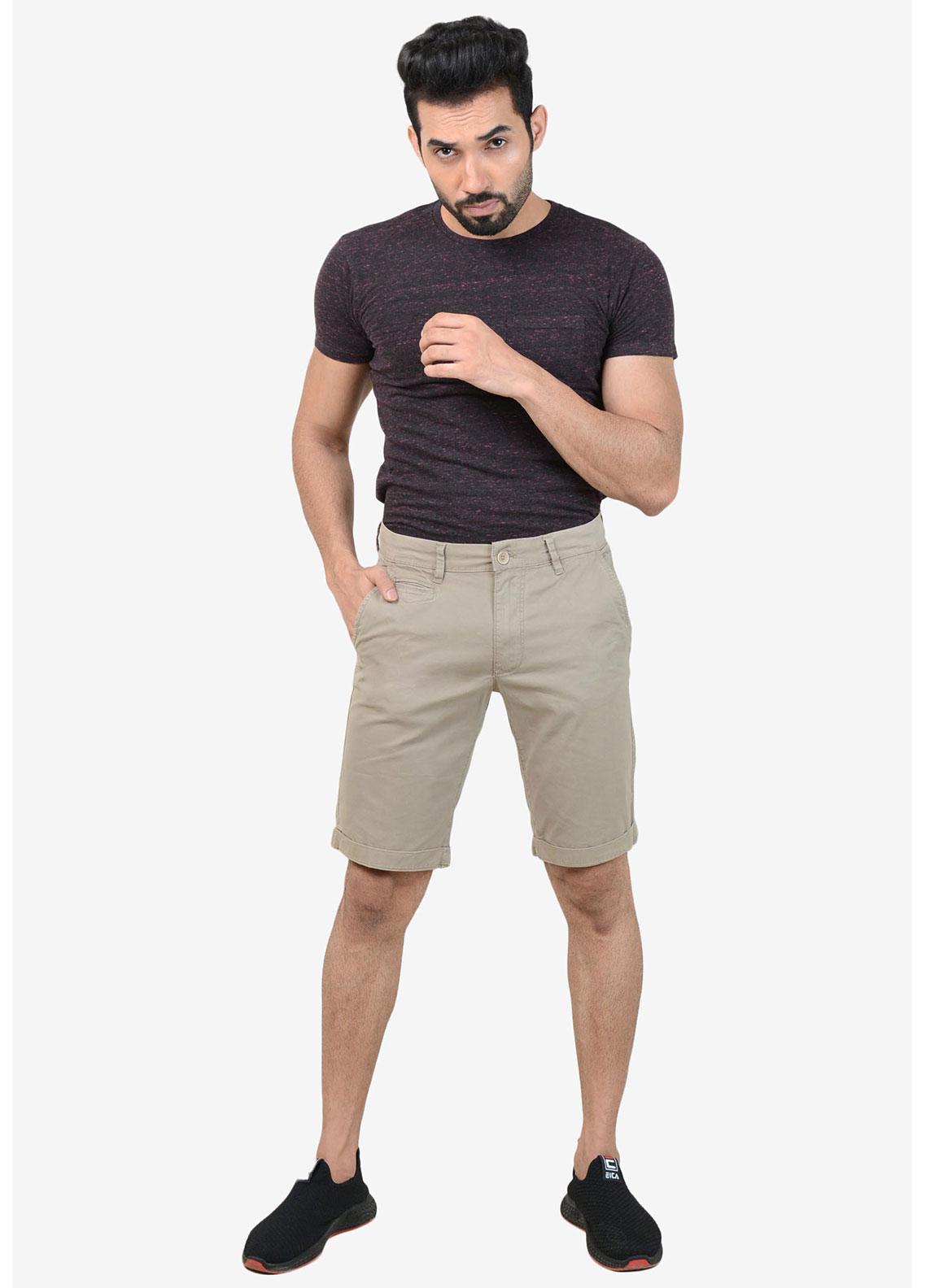 Ignite Wardrobe Cotton Stretchable  Men Shorts -  IG20SOM 006