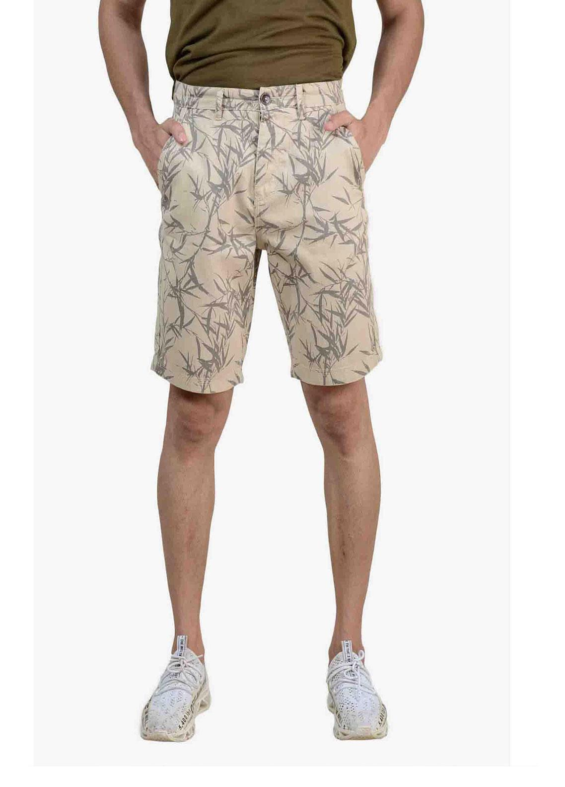 Ignite Wardrobe Cotton Printed Shorts for Men -  IG20SOM 007
