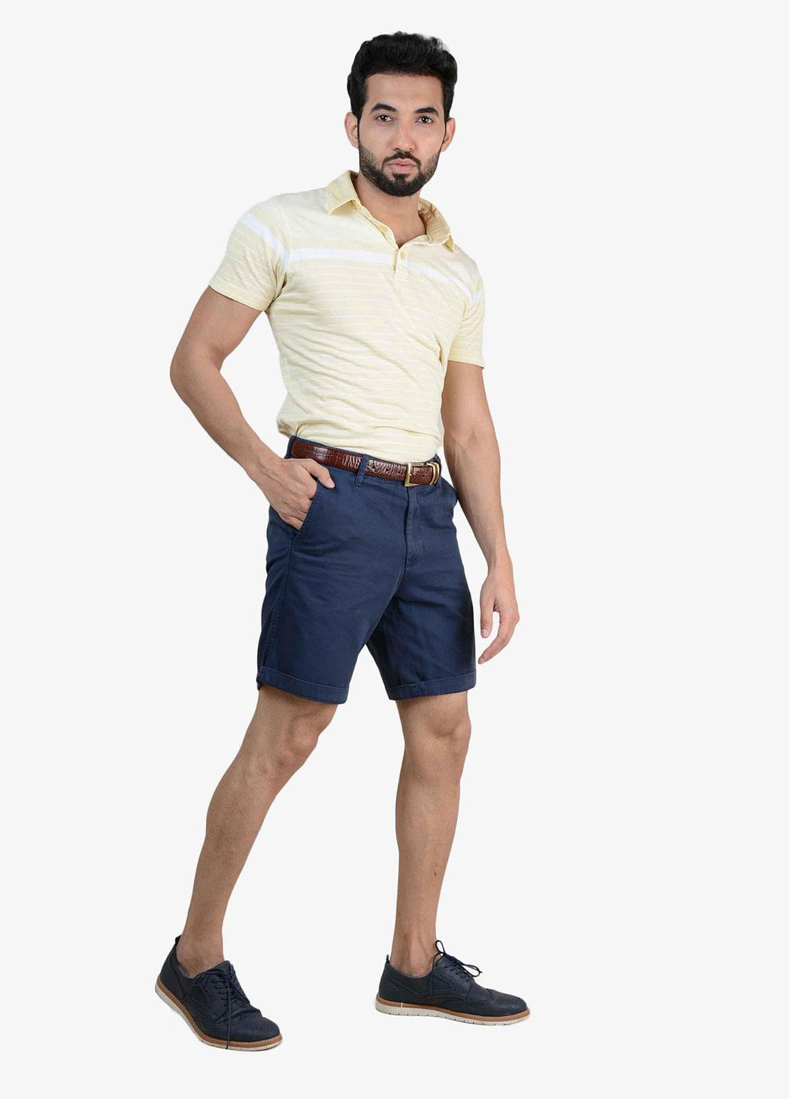 Ignite Wardrobe Cotton Signature Chino Men Shorts -  IG20SOM 016