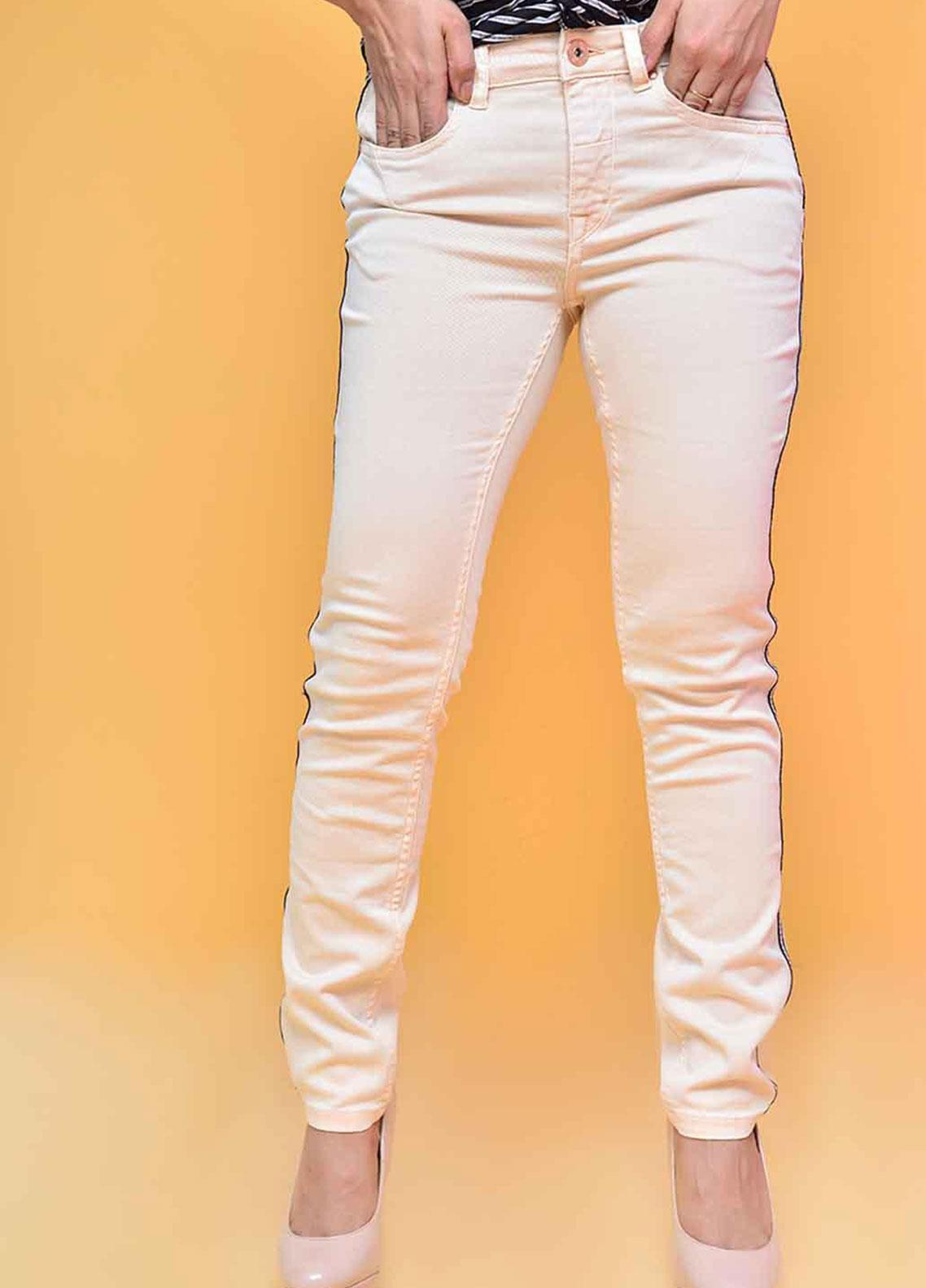 Ignite Wardrobe Tape Stretch Cotton Skinny Pants IG20PNW 003