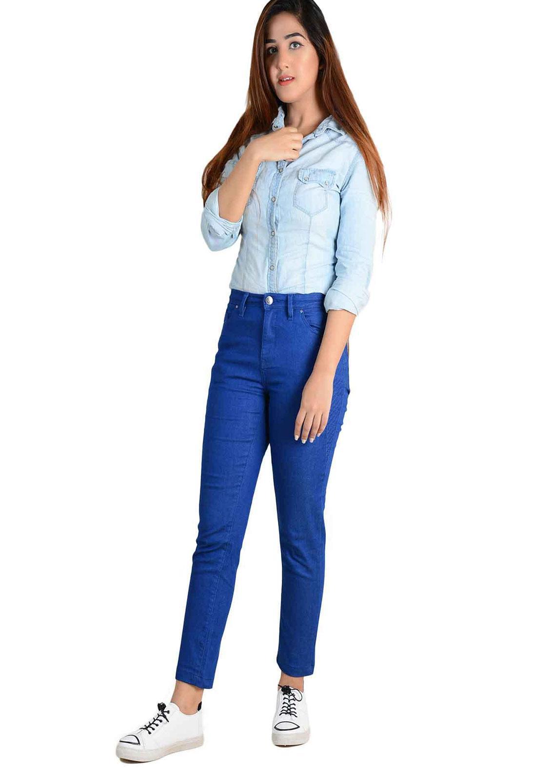 Ignite Wardrobe Stretchable Cotton Slim Fit Pants IG20PNW 007