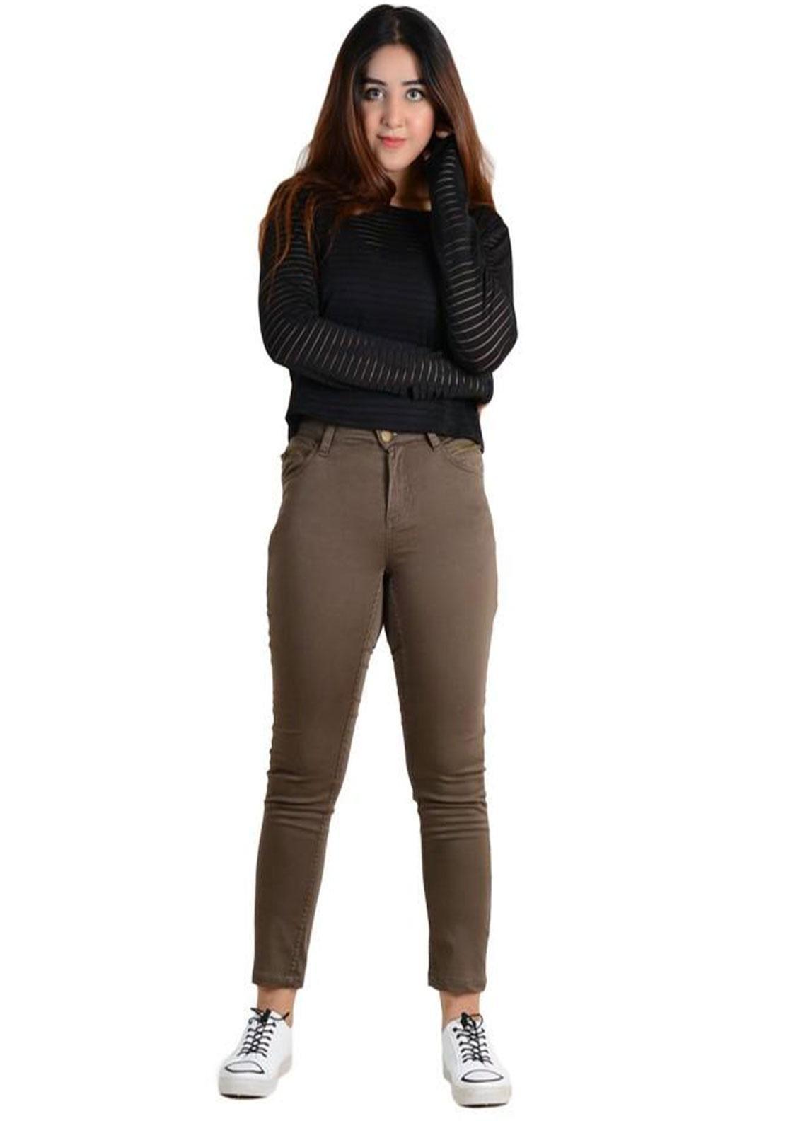 Ignite Wardrobe Stretchable Cotton Pants IG20PNW 011