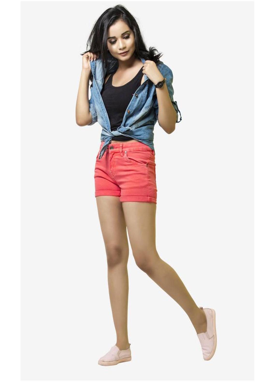 Ignite Wardrobe Stretchable Cotton Shorts IG20HPW 002
