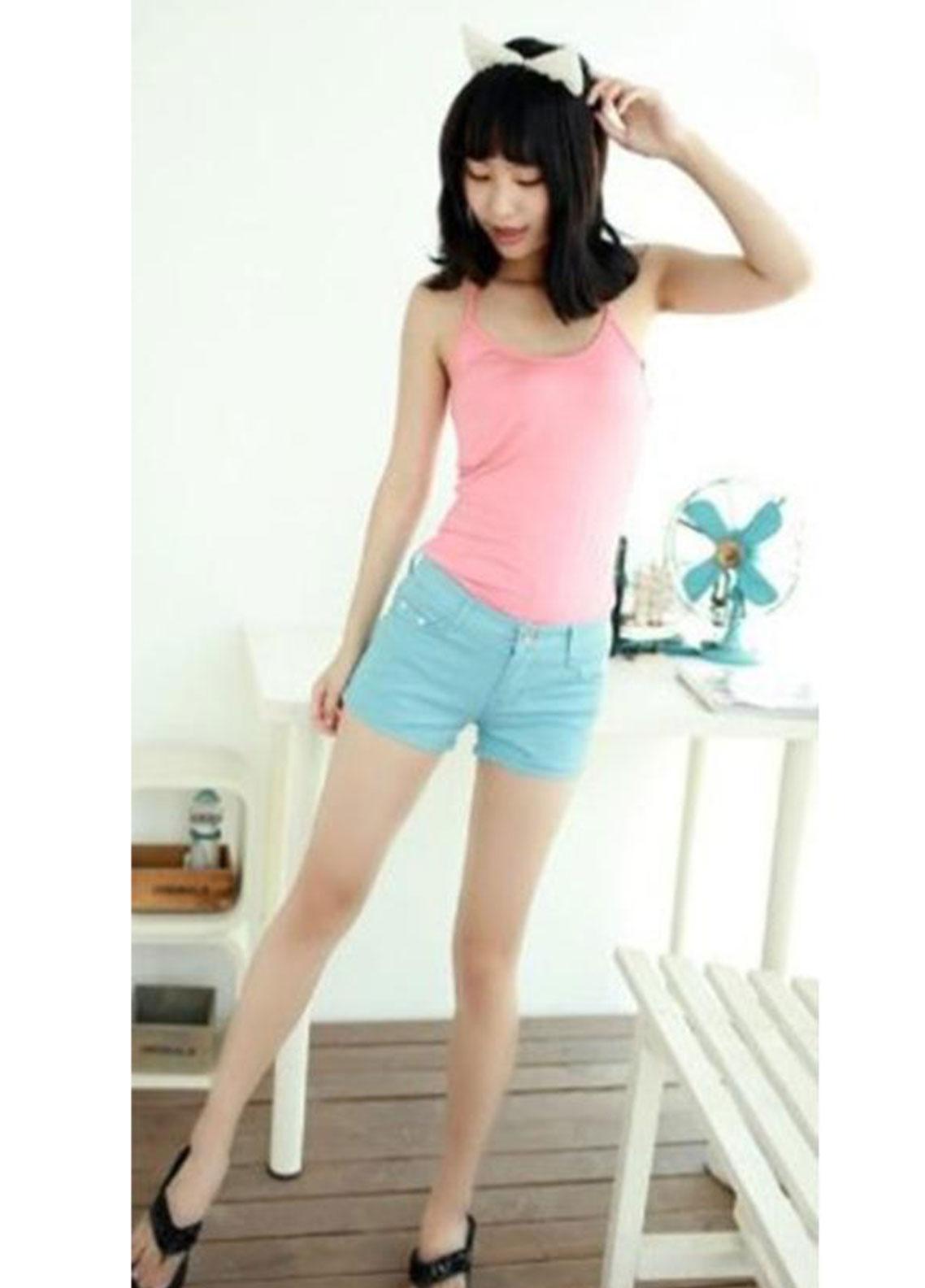 Ignite Wardrobe Stretchable Cotton Shorts IG20HPW 003