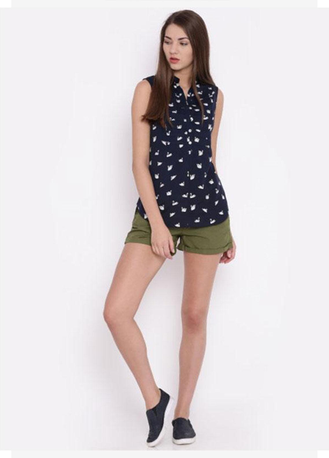Ignite Wardrobe Stretchable Cotton Shorts IG20HPW 004