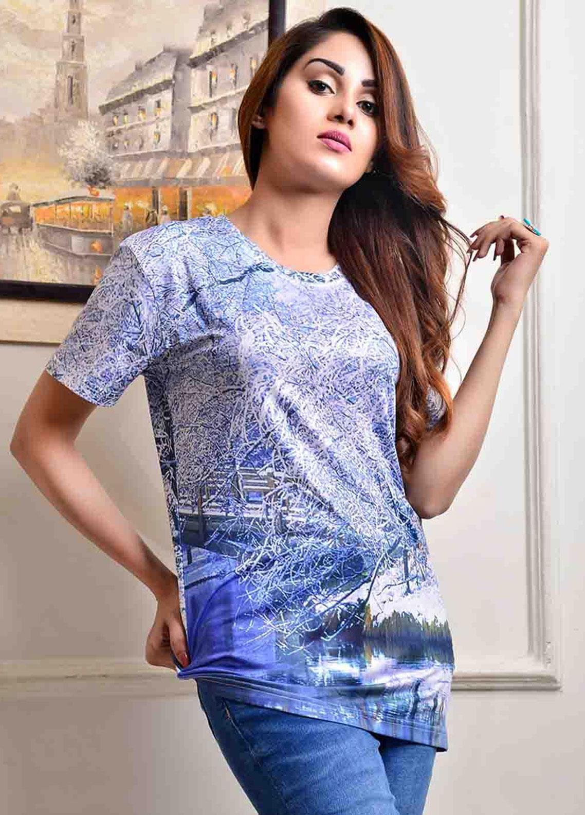 Ignite Wardrobe Digital Print Polyester T-Shirts IG20TSW 002