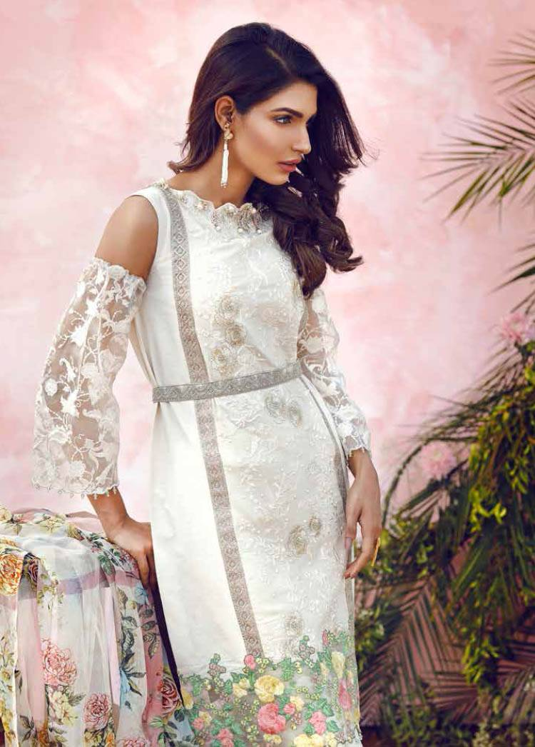 Imperial Textile Embroidered Lawn Unstitched 3 Piece Suit IM17E2 05