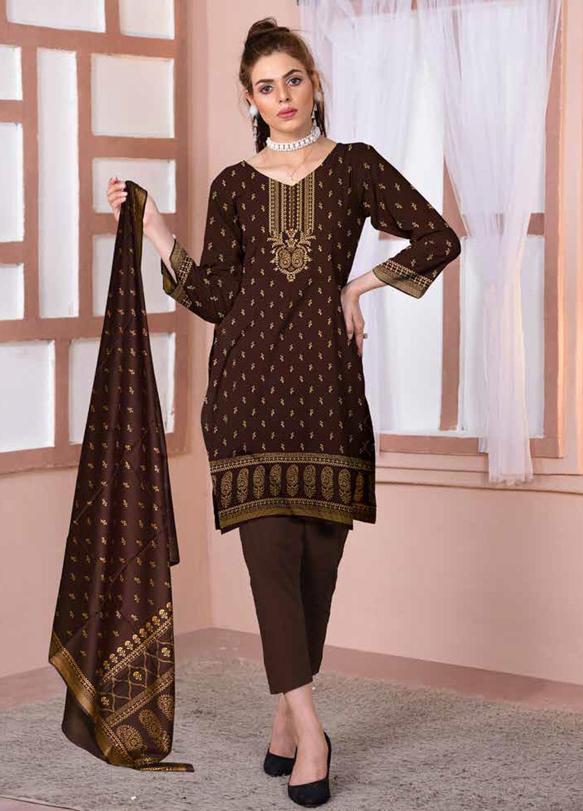 Ittehad Textiles Printed Lawn Unstitched 3 Piece Suit ITD20CL 66A - Summer Collection