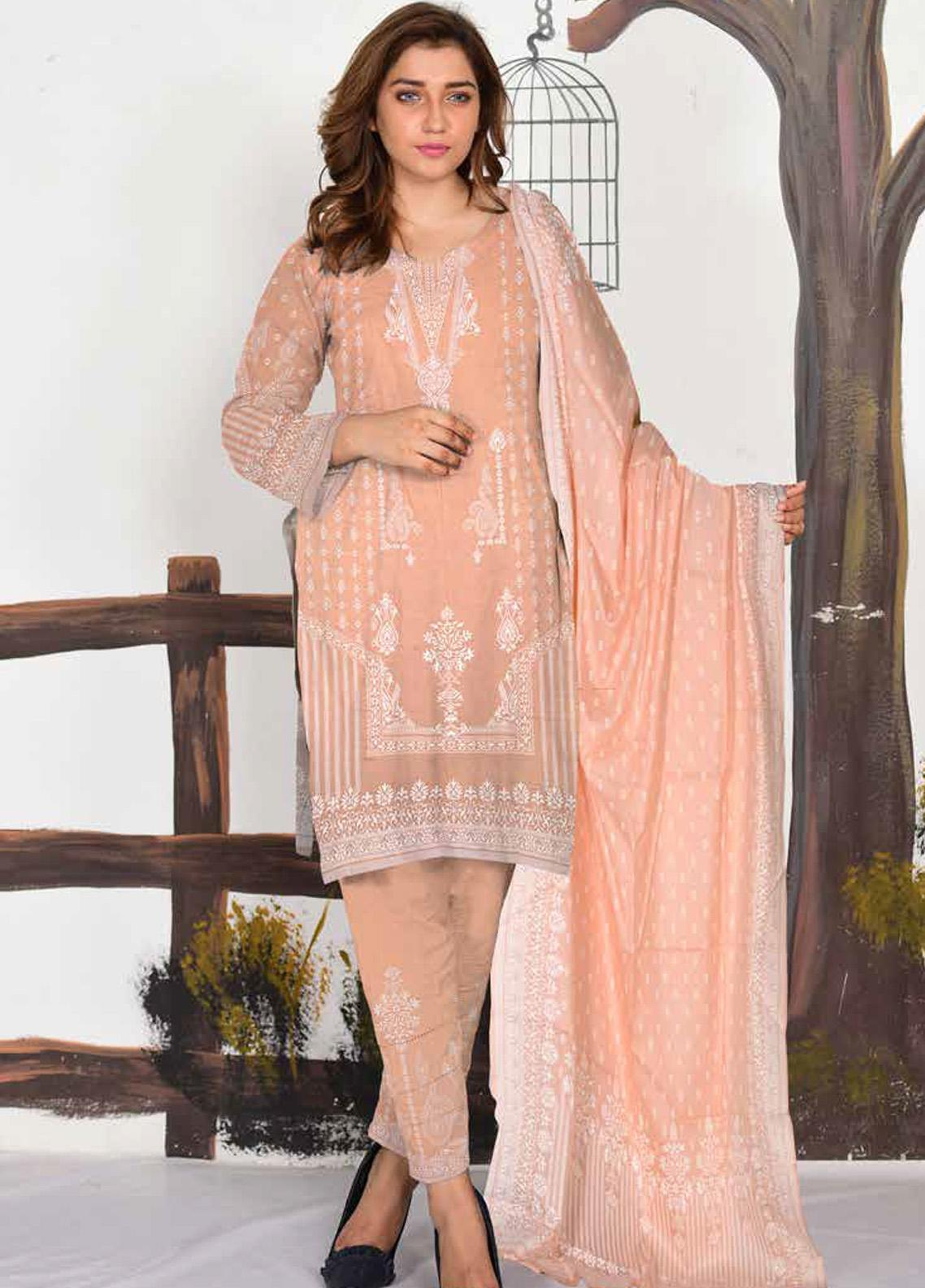 Ittehad Textiles Printed Lawn Unstitched 3 Piece Suit ITD20CL 67A - Summer Collection