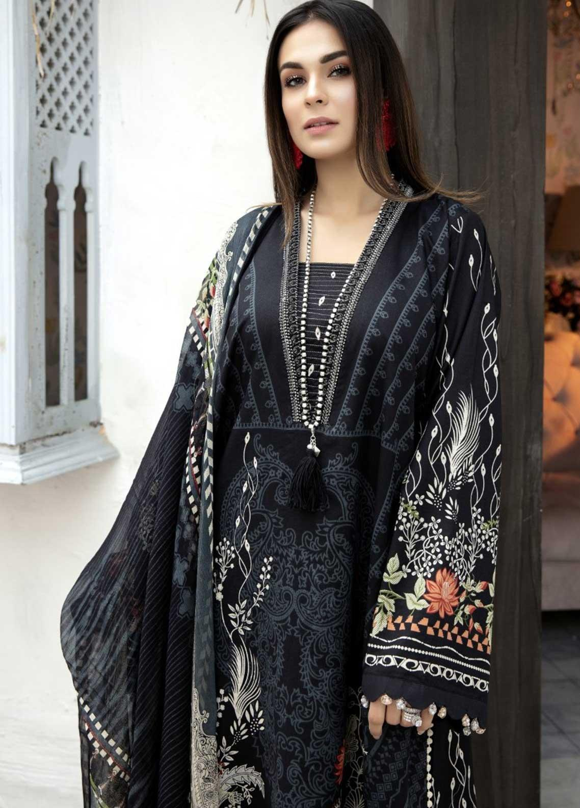 Ittehad Textiles Embroidered Lawn Suits Unstitched 3 Piece IT21EL ITE-HECHICERA - Summer Collection