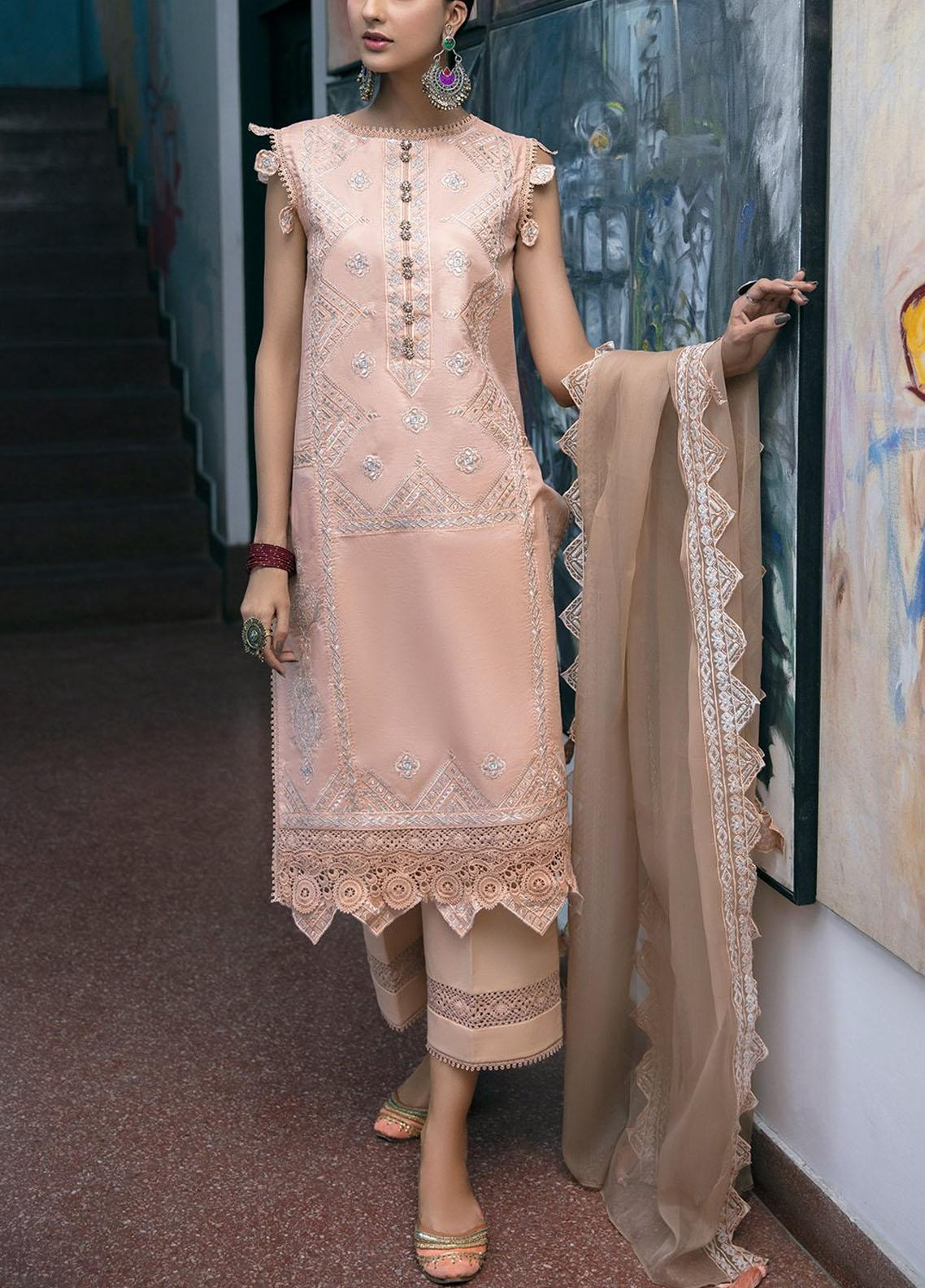 Ittehad Textiles Embroidered Lawn Suits Unstitched 3 Piece ITD21SS LISSE - Spring / Summer Collection