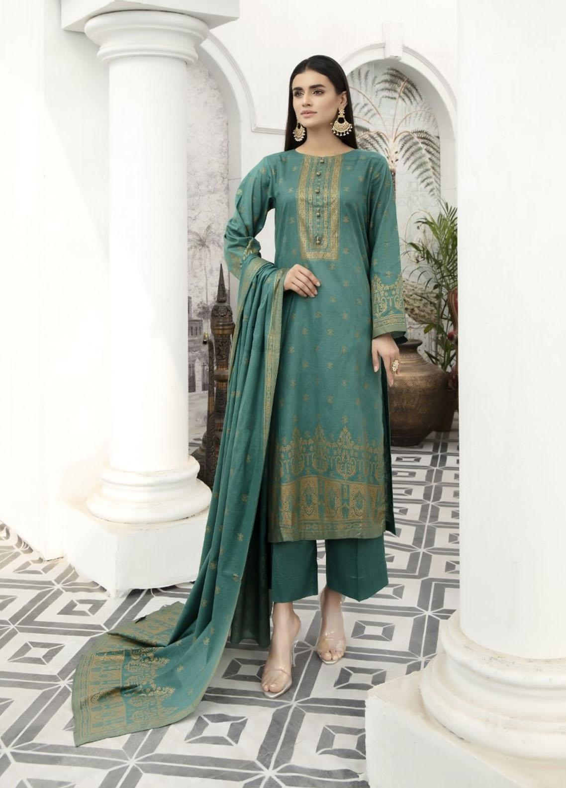 Jhalak By Ittehad Textiles Printed Lawn Suits Unstitched 3 Piece ITD21JL 21230C - Summer Collection