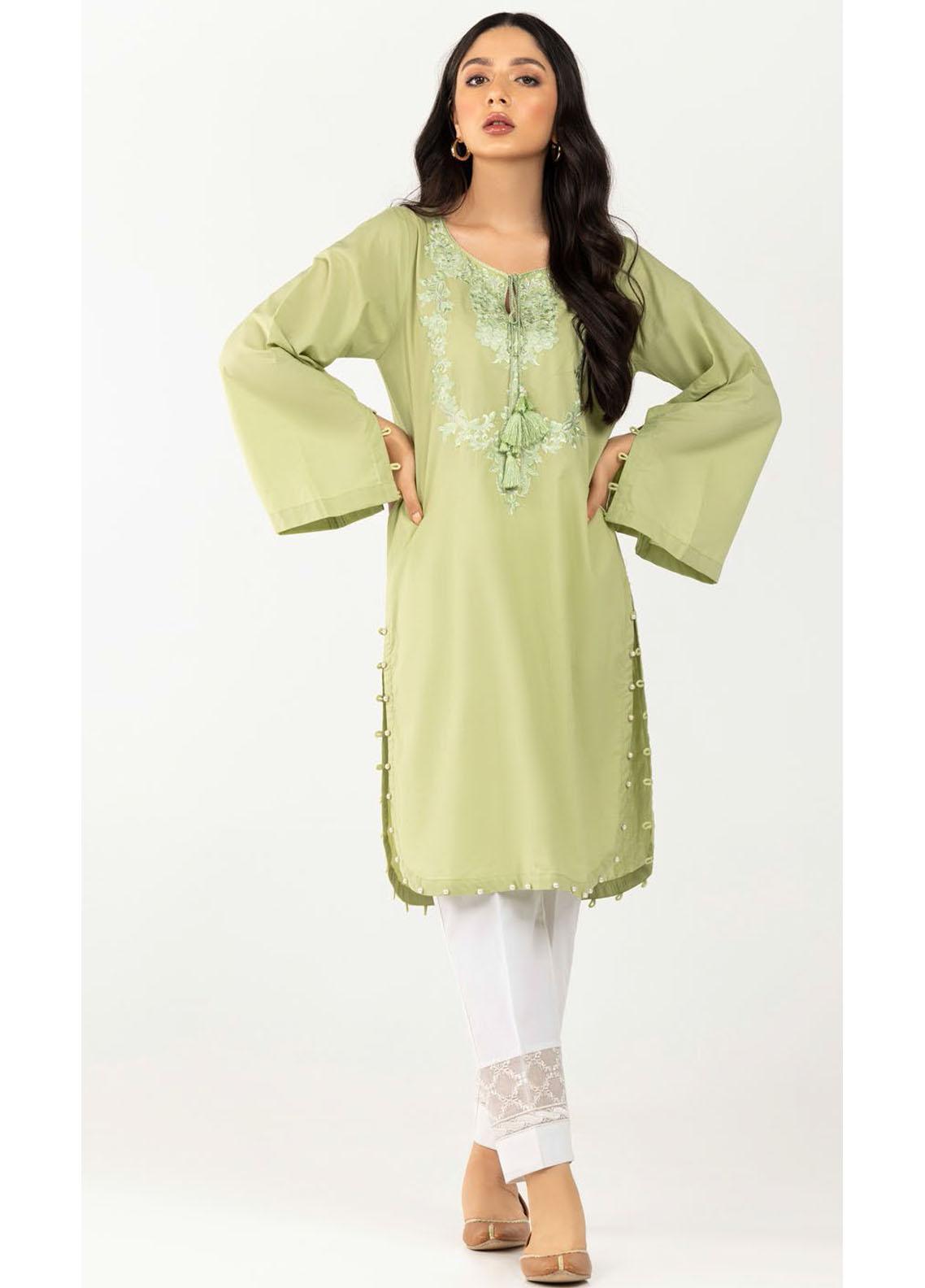 Gul Ahmed Luxury Pret Printed Cambric Kurties GA21K WGK-CMS-DE-706