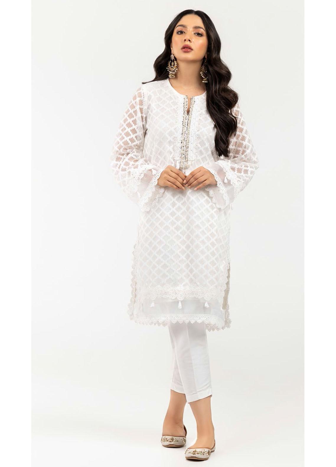 Gul Ahmed Luxury Pret Printed Cotton Kurties GA21K WGK-JQS-DY-560