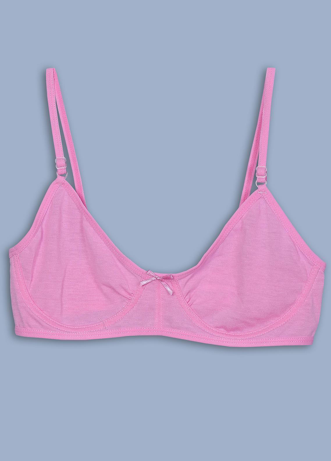 KAYSER TEEN GIRLS COTTON BRA-Rose Pink