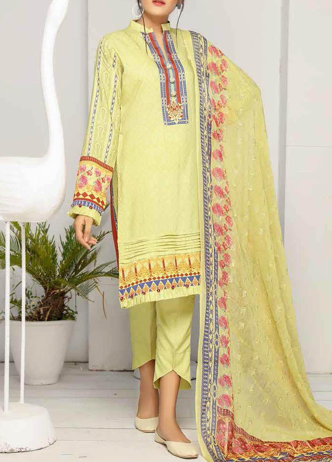Khaka by Puri Fabrics Embroidered Viscose Unstitched 3 Piece Suit PF20KV-2 D-06 - Festive Collection