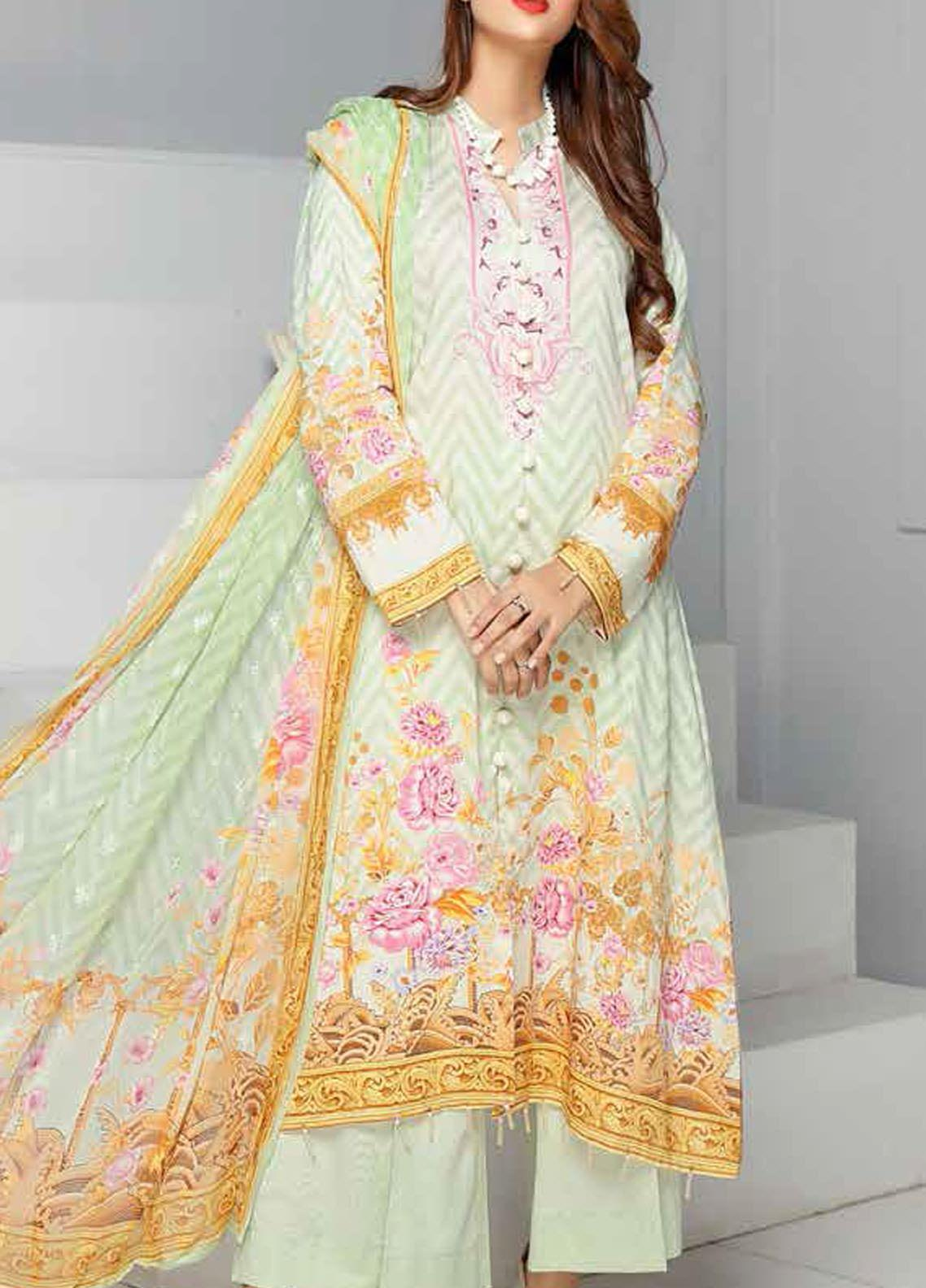 Khaka by Puri Fabrics Embroidered Viscose Unstitched 3 Piece Suit PF20KV-2 D-09 - Festive Collection