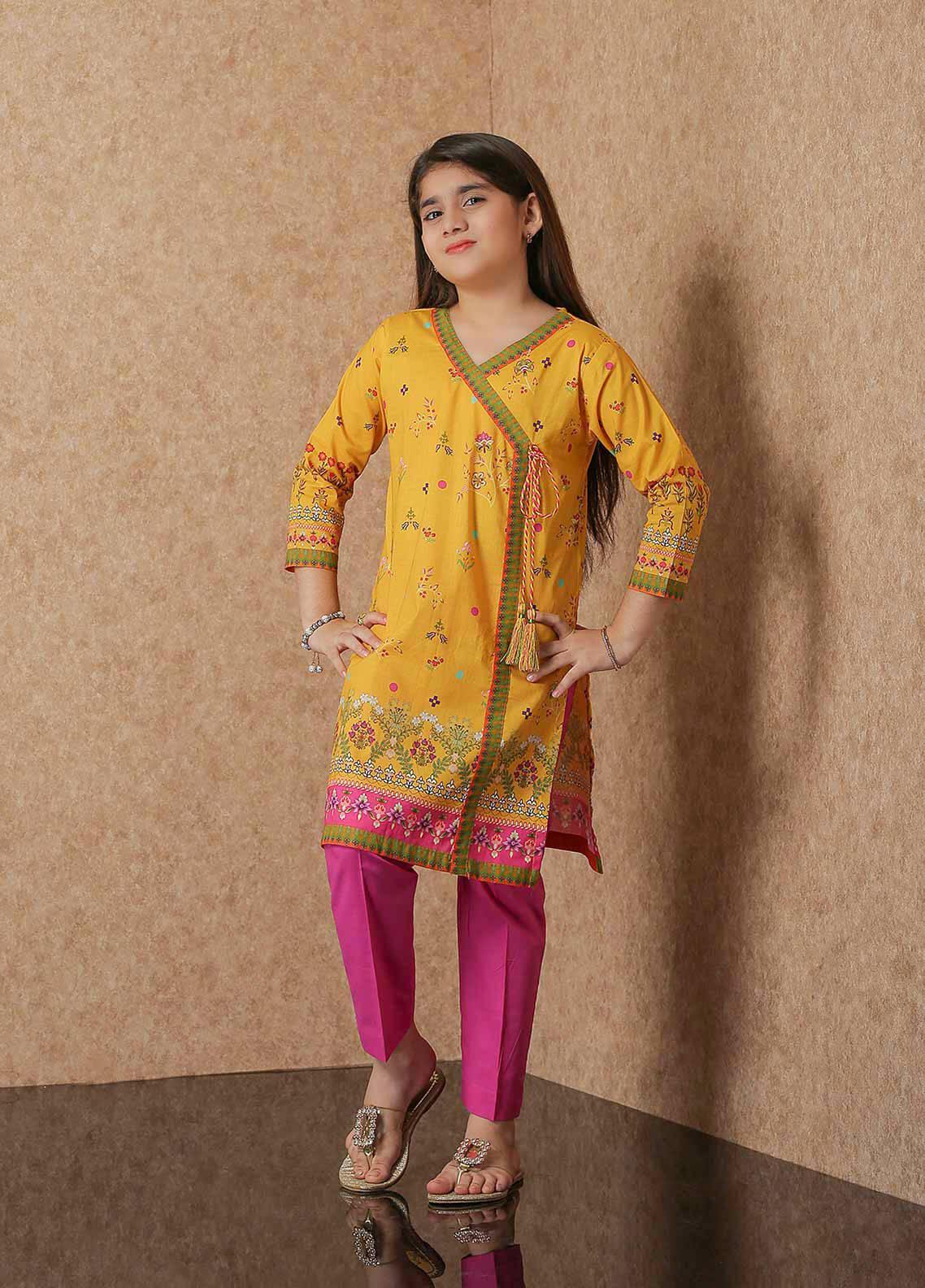 Waniya Lawn Printed 2 Piece Suit for Girls -  WKA20-05